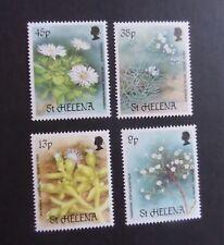 St Helena 1987 Rare Plants flowers SG505/8 MNH UM unmounted mint