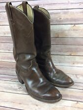 Men's Vintage Western Cowboy Boots  Made In Mexico   Size 9