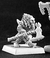 1 x DWARVEN BERSERKER AXE - WARLORD REAPER miniature jdr rpg d&d nain 14329l
