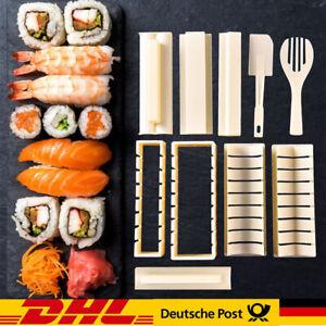 10 Stk DIY Sushi Maker Set Reisrolle Form Küchen Sushi Herstellung Tool Kit Home