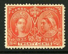 CANADA Scott 59 - HR - 20¢ Vermillion Jubilee (.015)