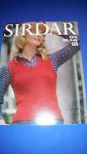 Sirdar Women's Sweater Knitting Pattern 5215