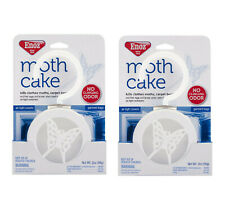 2-Pack Enoz Moth Cake, Kills Clothes Moths, Carpet Beetles, and Eggs and Larvae