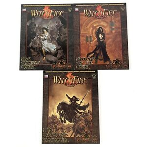 The Witch Fire Trilogy Dungeons And Dragons RPG Paperback Books 1-3
