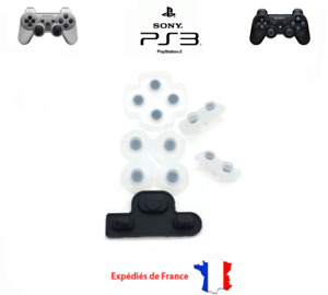 Boutons Silicone caoutchouc Manette Ps3 playstation 3