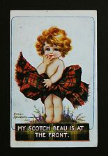 WW1 Postcard Scotch Beau Is At The Front Wharncliffe Street Hull Yorkshire HU5