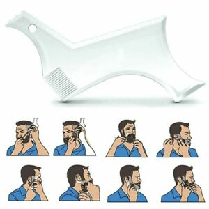 Men Beard Trim Comb Shaper Plastic Template Shaping Styling Tools Accessories