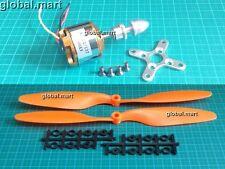 M01B 2212 1000Kv Brushless Outrunner Motor + 1045 prop (ORANGE) Quadcopter PLANE