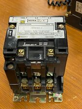 👀 SQUARE D SIZE 1 NEMA CONTACTOR 600V 10 HP 110/120V COIL 8502SCO2S