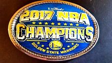 GOLDEN STATE WARRIORS 2017 NBA Championship  Buckle - NEW