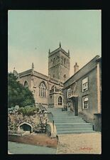 Somerset AXBRIDGE Church Used 1907 PPC by Wilkinson Trowbridge