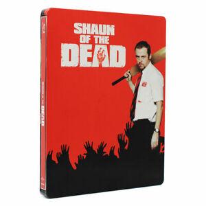 SHAUN OF THE DEAD (STEELBOOK) [BLURAY] NEW & SEALED