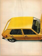 VW Amazing Rabbit We Put The Engine In Sideways Volkswagen 1975 Vintage Print Ad