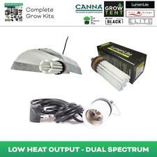 Hydroponics LumenLite Dual Spectrum CFL Grow Light Bulb Reflector Holder Grow