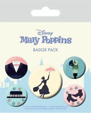 Mary Poppins pack 5 badges Disney badge pack 806532