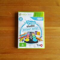 xbox 360 game - U Draw Studio Instant Artist - Used