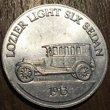 JETON TOKEN ANTIQUE CAR COIN SÉRIE 1 LOZIER LIGHT SIX SEDAN 1913  (431) SUNOCO