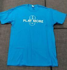 Logitech Play More, T Shirt, Adult Medium | PAX West + Free Random PAX Lanyard