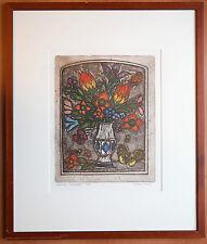 Albert Cohen lithographie encadrée signée numerotée/75 Artprice Akoun