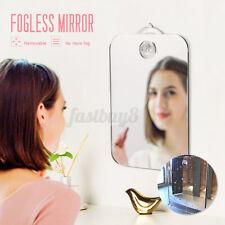 "Anti Fog Shower Mirror Fogless Shaving Bathroom Fog-Free Mirror Travel 6.7x5.1"""