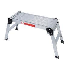 775MM Aluminium Platform Work Bench Folding Step Ladder EN131& CE 150Kg Hop V3Q7