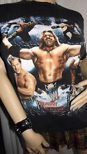 Licensed Vintage WWE ECW RAW Smack Down  Double Sided Shirt