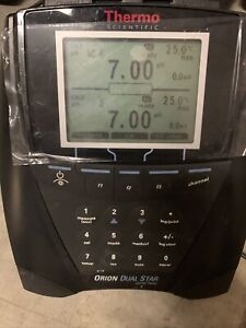 thermo scientific orion dual star ph/SE meter Tested Used