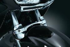 Kuryakyn 7339 Chrome Fork Brace Honda '01-'15 GL1800 & F6B Models Gold Wing