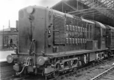 PHOTO  BR  BO BO DIESEL NO. 10800 AT RUGBY RAILWAY STATION 1955