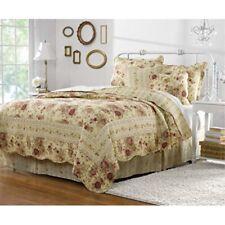 greenland home antique rose quilt set 5-piece full/queen multi
