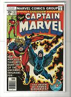 Captain Marvel #53 VF/NM High Grade Marvel Comics 1977 Black Bolt Inhumans MCU