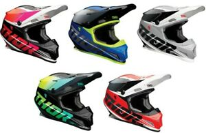 Thor Sector Fader Full Face Motocross Offroad Dirt Bike Helmet