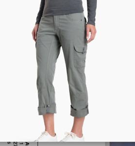 Kuhl SPLASH™ ROLL-UP PANT Dark Gray 6 Regular hiking