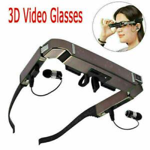 """80"""" Smart 3D VR Virtual Video Glasses Android 4.4 WiFi Bluetooth + 5MP HD Camera"""