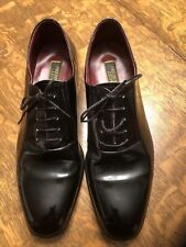 Frederico Leone Black Tuxedo shoes 20-000 US Size 13M perfect condition Japan