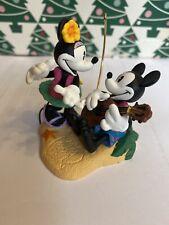 Christmas Disney Hallmark Keepsake Mickey & Minnie Mouse Paradise Ornament NIB