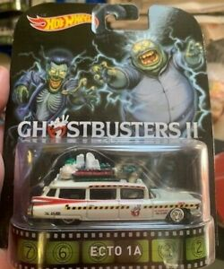 1/64 Hot Wheels Retro Ghostbusters 11 Ecto-1A