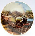 Vintage Royal Doulton Franklin Mint Bone China Collector Plate Flying Scotsman