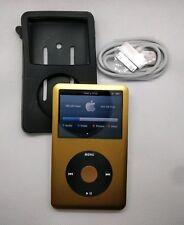 Apple iPod Classic 1TB SSD • 7th gen, gold (full refurb, new battery + extras)