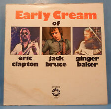 THE EARLY CREAM OF ERIC CLAPTON, BRUCE & BAKER LP 1975 PLAYS GREAT! VG+/VG!!