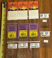 11 Packs Trailing Shucks, Shane Stalcup & Hareline, Fly Tying, Nr