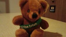 Dakin ERIN Brown Bear Luck of the Irish Plush 1983