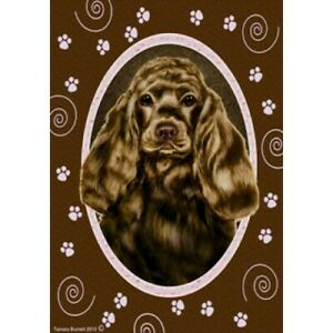 Paws House Flag - Chocolate Cocker Spaniel 17206