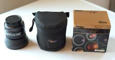 Nikon NIKKOR 50mm f/1.4 D AF Lens, Lens hood, and LowePro padded case