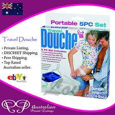 RECTAL ANAL DOUCHE for Men / Women uni-sex - back door colon dooche cleaner