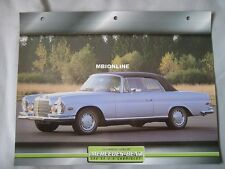 Mercedes 280SE 3.5 Cabriolet Dream Cars Card