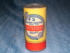 VINTAGE 1950S  REGENT CARLTON SHUTTLECOCKS UNOPENED CAN