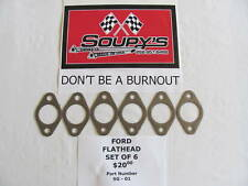 Ford Flathead Exhaust Gaskets