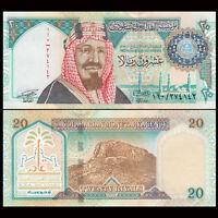 Saudi Arabia 20 Riyals Banknote, 1999, P-27, UNC, Asia Paper Money, COMM.