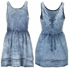 Topshop Denim Short/Mini Casual Dresses for Women